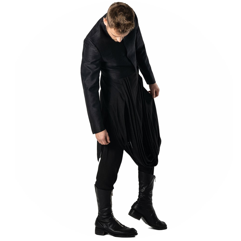 Anantvir clothing for men. Explore and shop the best avant-garde designers online at unconventional