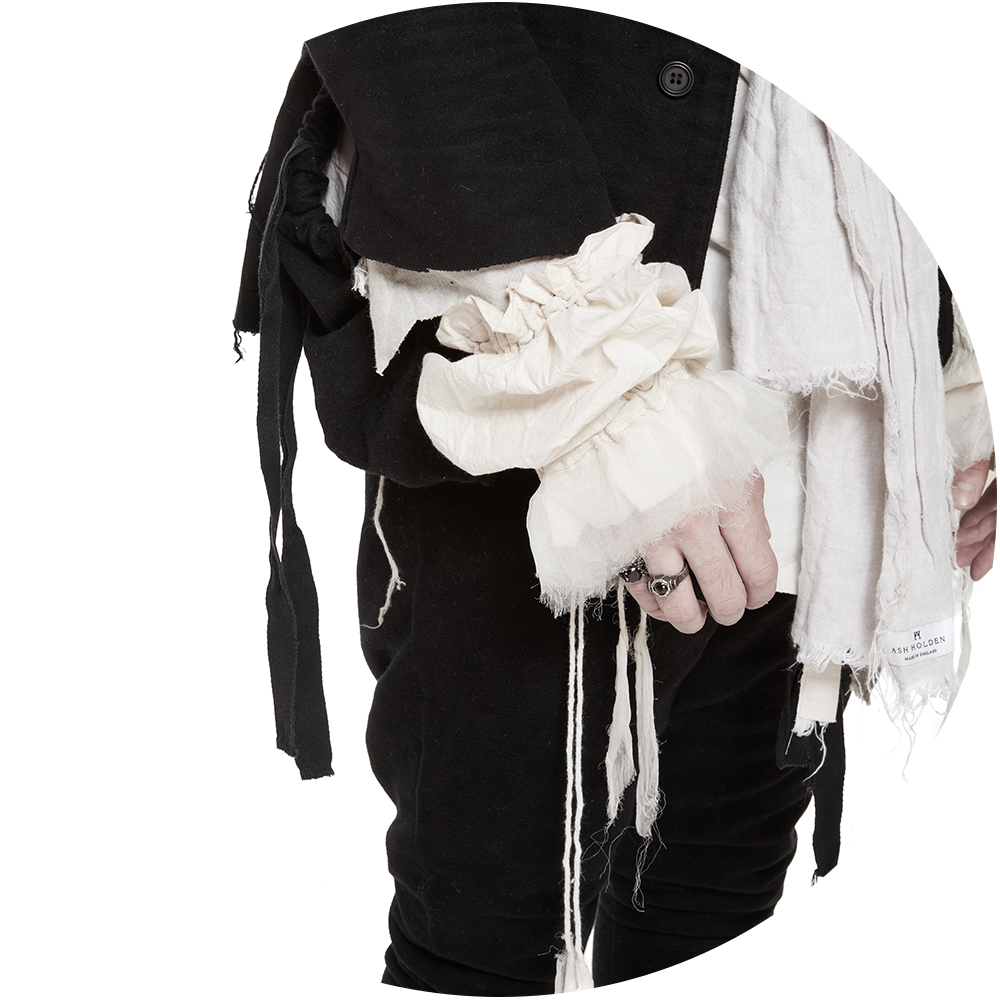 Ash Holden Menswear - Explore and shop the best avant-garde designers online at unconventional