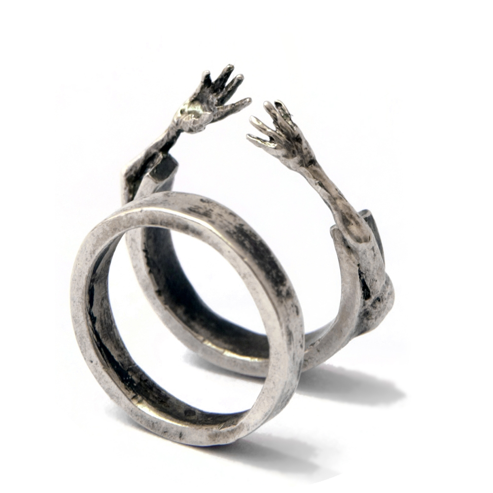 Filip Palmén - One off hand crafted silver jewellery