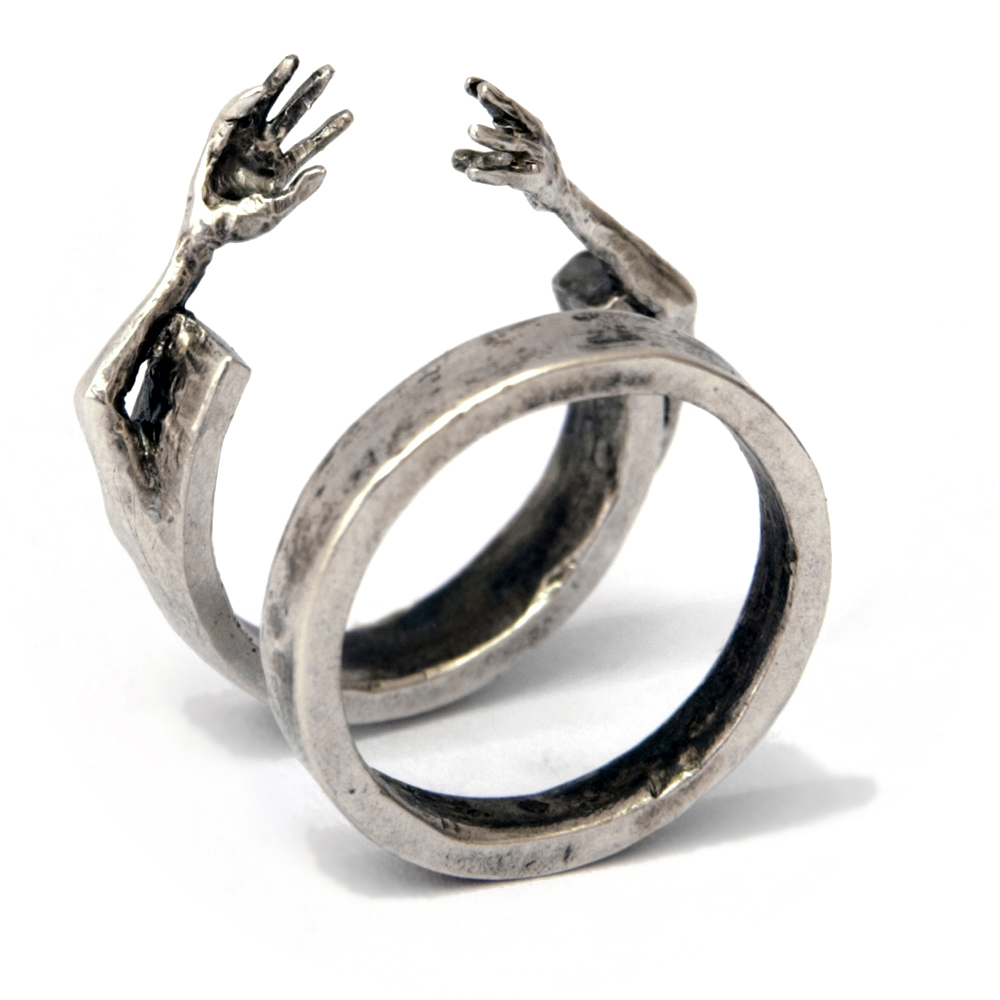 Filip Palmén - Discover avant garde hand crafted silver jewellery online at unconventional a leading contemporary retailer